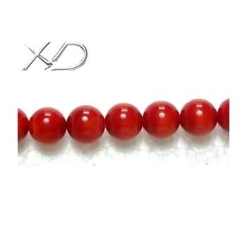 珊瑚珠,规格:7mm,长度:16寸,红珊瑚,圆形珊瑚珠子批发